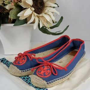 Tory Burch Espadrilles Size 9